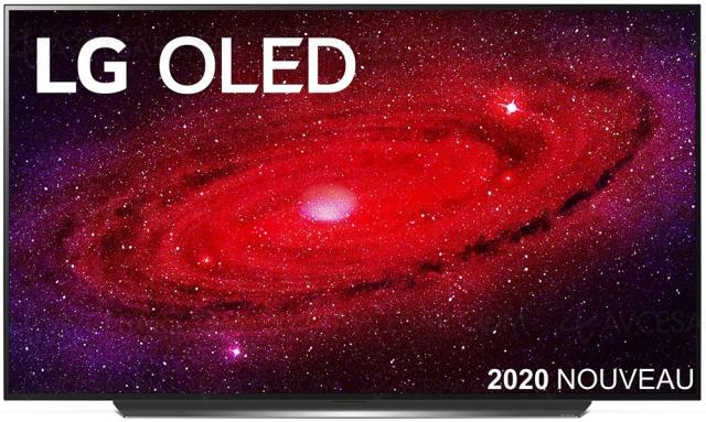 Soldes hiver 2021 > TV Oled Ultra HD 4K LG OLED77CX à 3 799 € soit ‑1 200 € de remise