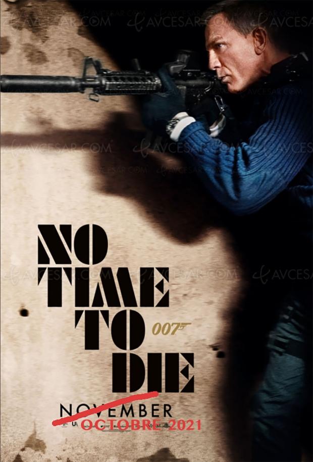 La sortie de No Time to Die encore repoussée (et ce n'est pas le seul !)