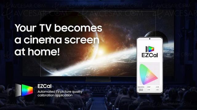 EzCal Samsung, application pour calibrer automatiquement son TV