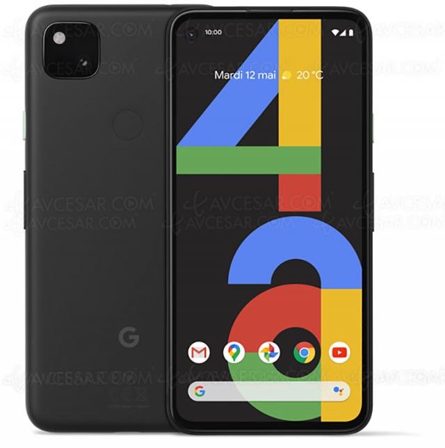 Test smartphone Google Pixel 4a, en ligne