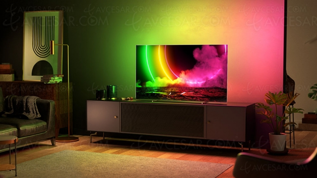 TV Oled Ultra HD 4K Philips OLED806 : 48'', 55'', 65'' et 77'' en approche