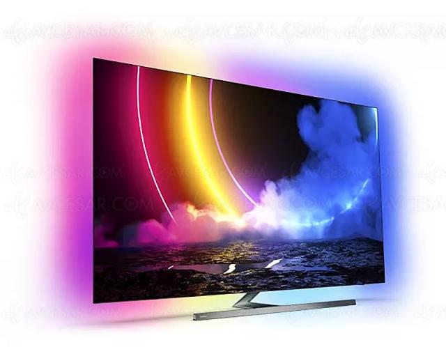 TV Oled Ultra HD 4K Philips OLED856 : 55'' et 65'' annoncés