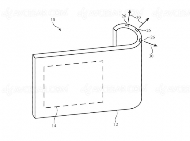 iPhone pliable et module photo amovible préfigurés par un brevet Apple !