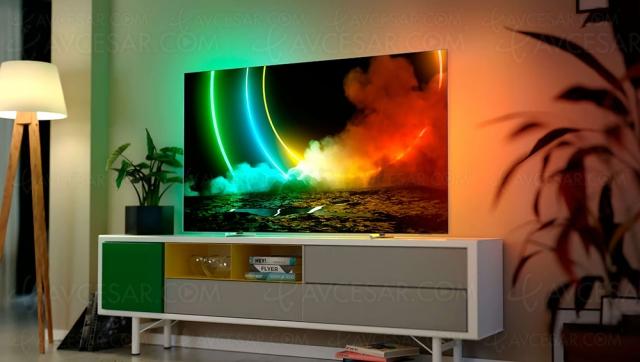 TV Oled Ultra HD 4K Philips OLED706 : 55'', 65'' et HDMI 2.1 annoncés