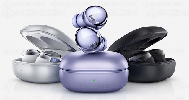 Samsung Galaxy Buds Pro, nouveaux écouteurs à deux haut‑parleurs