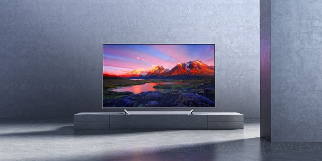 TV QLED Ultra HD 4K Xiaomi Mi TV Q1 75 : le meilleur rapport qualité‑prix 75'' du marché