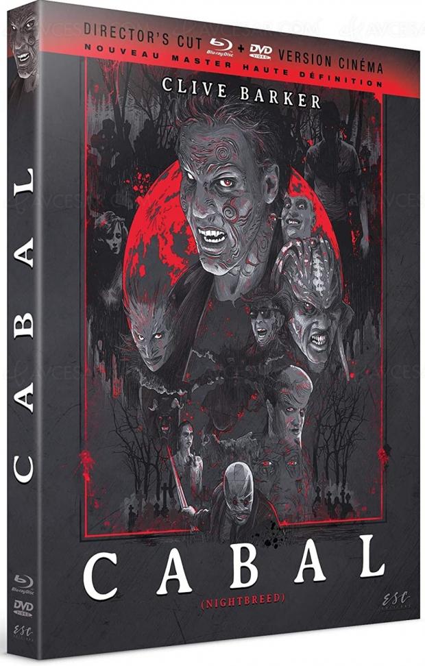 Cabal de Clive Barker en version inédite Director's Cut chez ESC Éditions