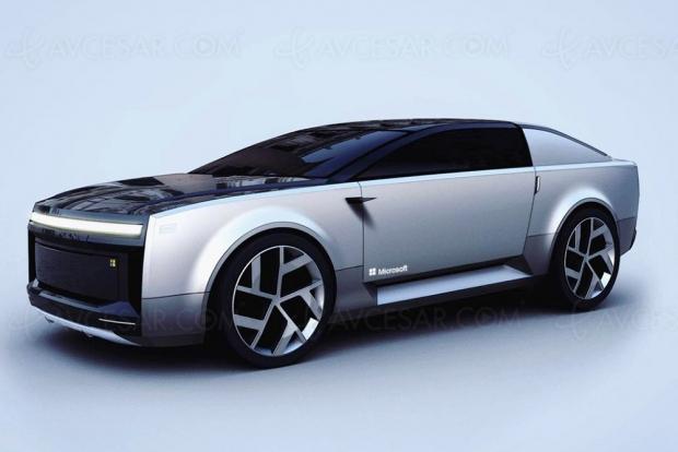 Après l'Apple Car, la Microsoft Car bien sûr