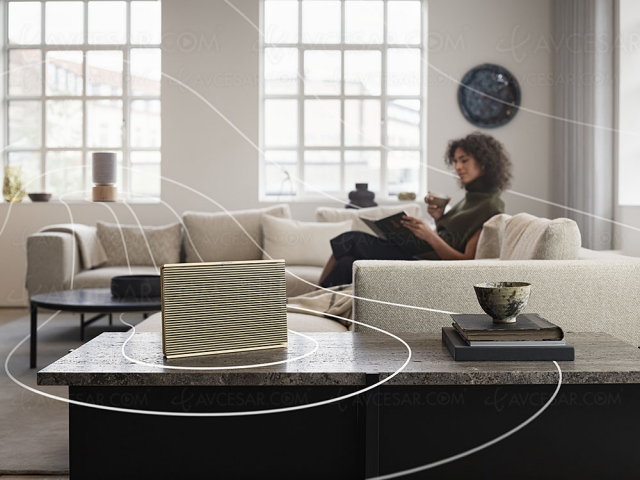 Bang & Olufsen Beosound Level, enceinte connectée Google Assistant, nomade et multiroom