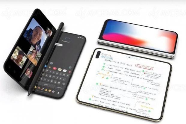 iPhone pliable compatible Apple Pencil ?