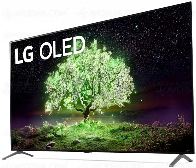 TV Oled LG A1 : mise à jour design