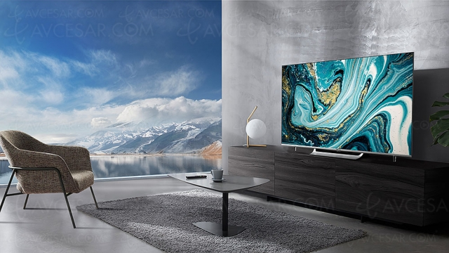 TV LED Ultra HD 4K Metz MUC8000Z : HDR Dolby Vision/Dolby Atmos et Android 10