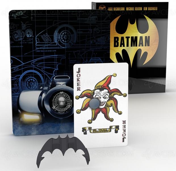 Le Batman de Tim Burton en 4K Ultra HD Titans of Cult le 24mars