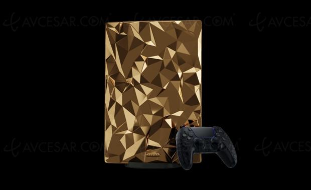 PlayStation 5 en or : seulement 9 exemplaires à 450 000 € pièce