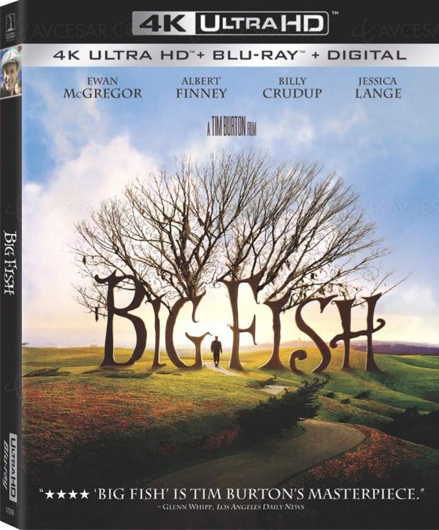 Big Fish bientôt en 4K Ultra HD, un merveilleux Tim Burton