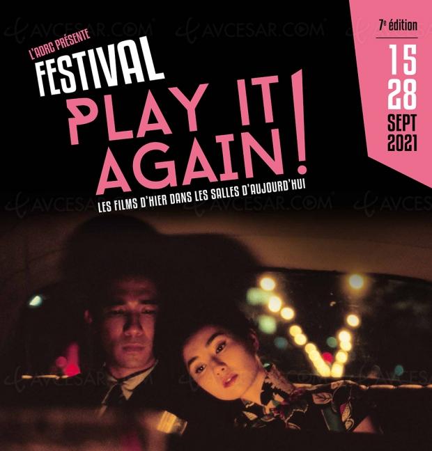 Festival Play it Again ! 7e édition en septembre en l'honneur des films du patrimoine