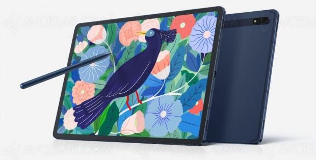 Tablettes Samsung Galaxy Tab S7 et Tab S7+, nouveaux coloris