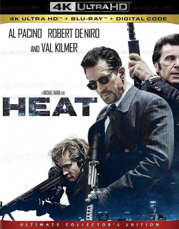 Heat : le classique de Michael Mann en 4K Ultra HD le 24mai