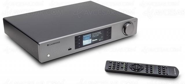 Test lecteur réseau Cambridge Audio CXN V2, en ligne