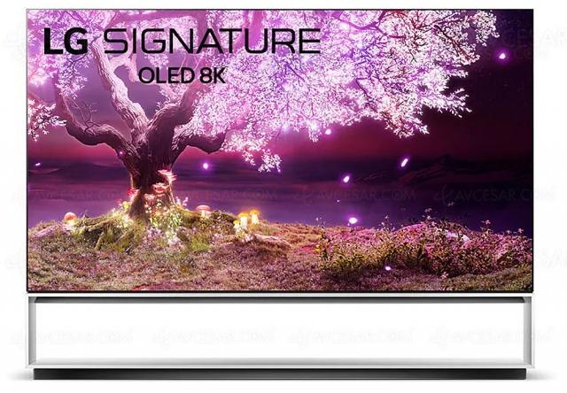 LG Z1, TV Oled Ultra HD 8K annoncés en 77'' et 88''