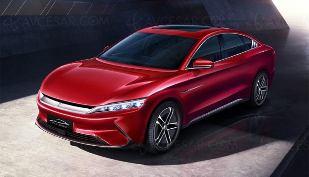 Bientôt une voiture électrique Huawei ?