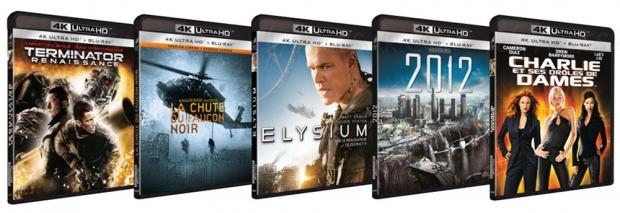 Gros spectacle pour les 5 nouveaux titres 4K Ultra HD de Sony