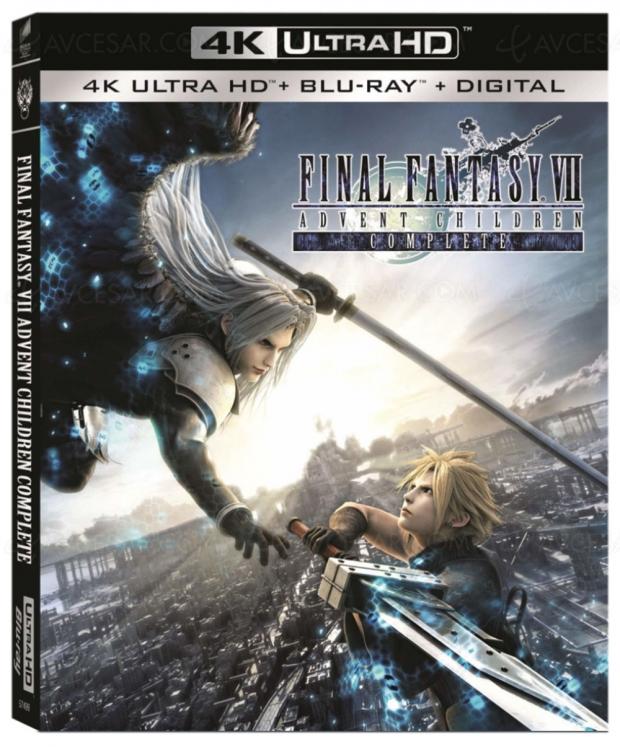 Final Fantasy VII : Advent Children 4K Ultra HD, le célèbre jeu version film