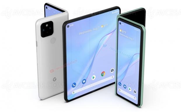 Smartphone Google Pixel pliable en vidéo (concept)