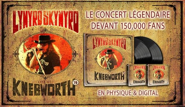 Lynyrd Skynyrd : un rare live de 1976 pour la première fois en Blu-Ray, DVD et vinyle