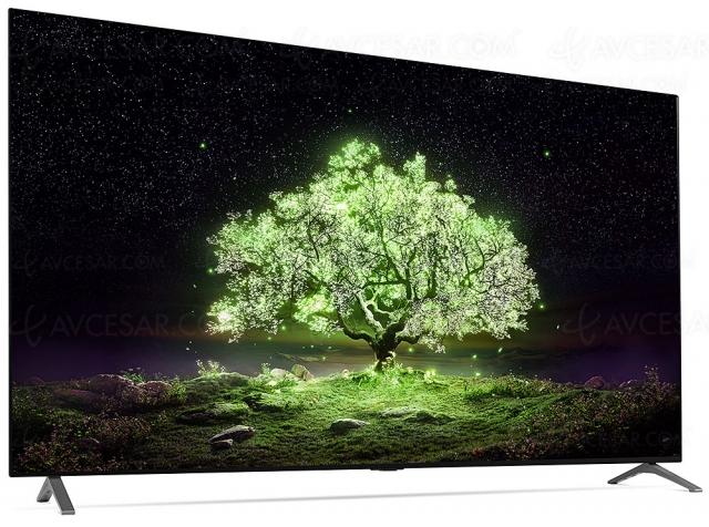 TV Oled Ultra HD 4K LG A1, mise à jour spécifications et prix