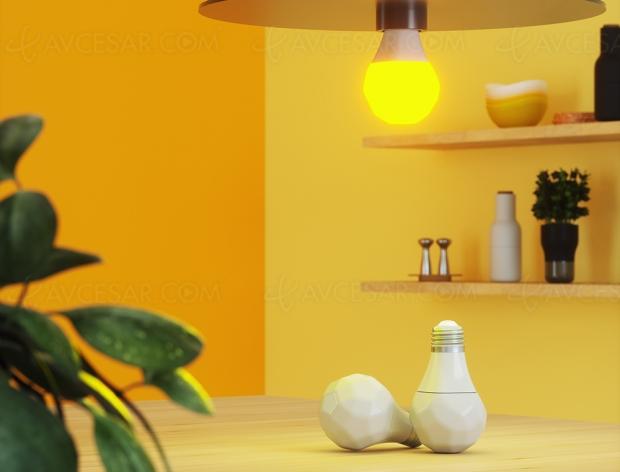 Éclairages Nanoleaf Essentials, fonctions Adaptive Lighting et Scènes de Couleur