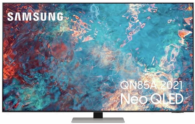 Samsung QN85A, TV Neo QLED Ultra HD 4K : Mini LED 55'', 65'', 75'' et 85''