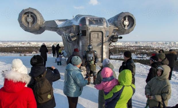 Ils ont vraiment construit le vaisseau du Mandalorian… en Russie !
