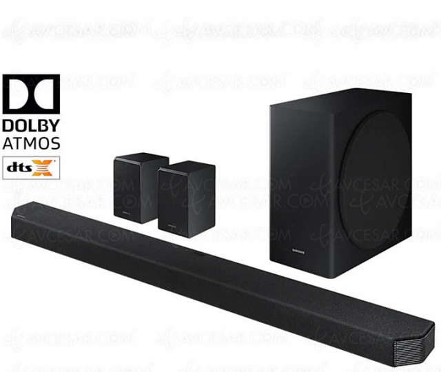 Test barre sonore Dolby Atmos/DTS:X Samsung HW‑Q950T, en ligne