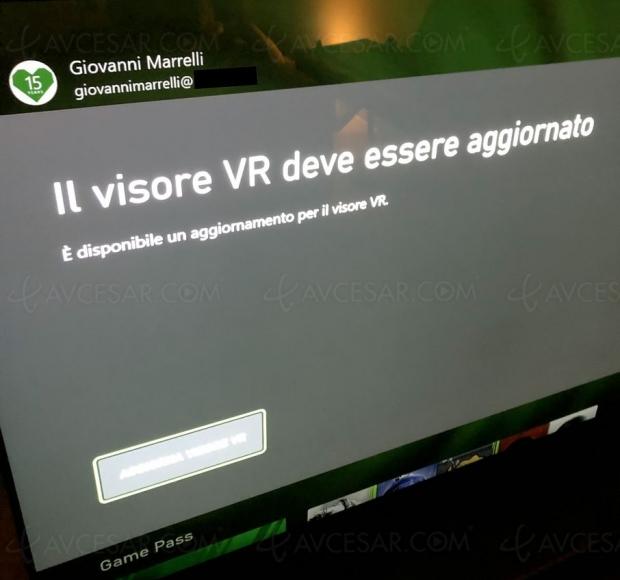 Casque de réalité virtuelle sur Xbox Series X/S ?