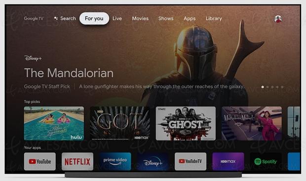 Chromecast avec Google TV : 4K améliorée pour TV et amplis