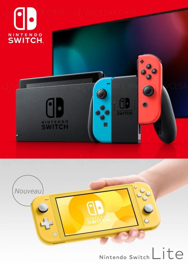 Nintendo Switch Oled 7'', dock Ultra HD 4K, DLSS et 399 $ à Noël