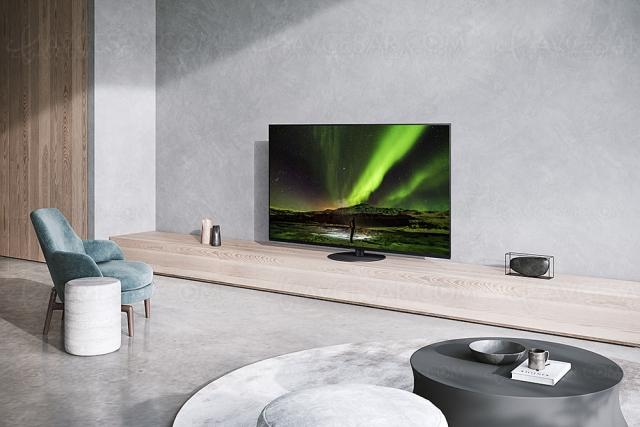 TV Oled Ultra HD 4K Panasonic JZ1500, Panasonic JZ1000 et Panasonic JZ980 : 48'', 55'' et 65''