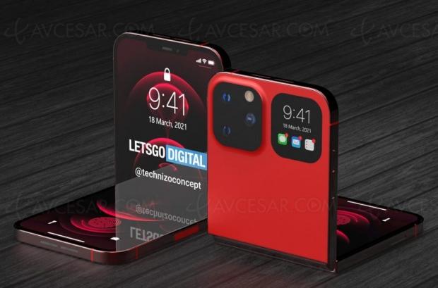 iPhone Flip, concept pliable en vidéo