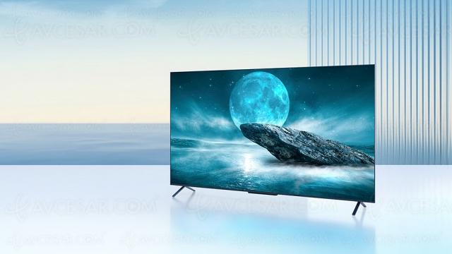 TV QLED Ultra HD 4K TCL C725, mise à jour spécifications et prix