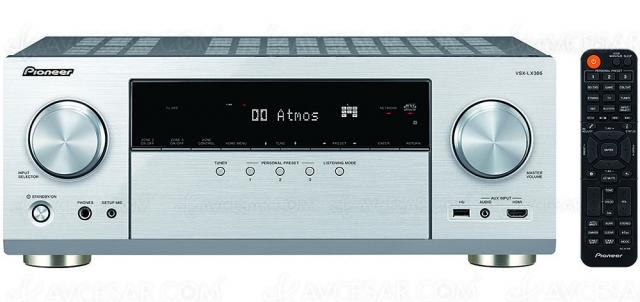 Pioneer VSX-LX305 : Dirac Live, Imax Enhanced, HDMI 2.1, HDR Dolby Vision, HDR10+, Dolby Atmos 7.2.2, DTS:X, AirPlay 2, DTS Play‑Fi…
