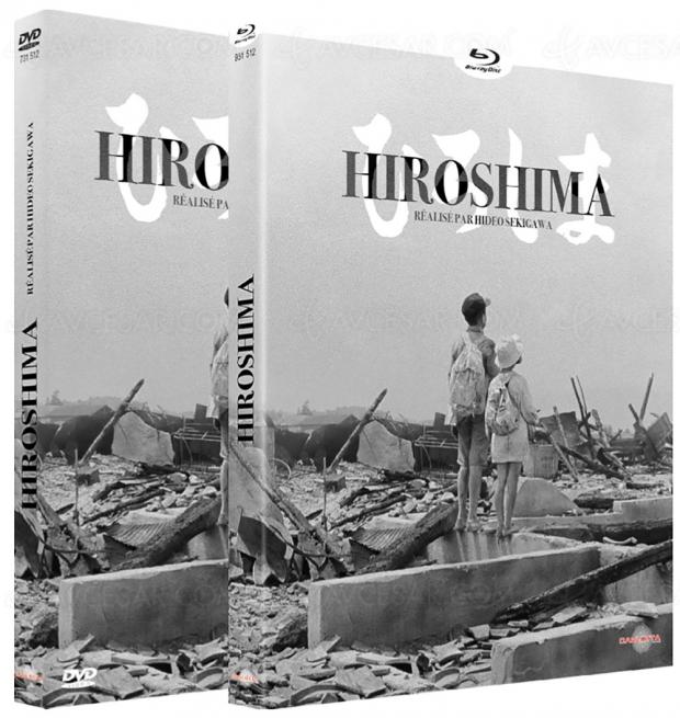 Hiroshima : un plaidoyer pacifiste pour la première fois en Blu‑Ray et DVD