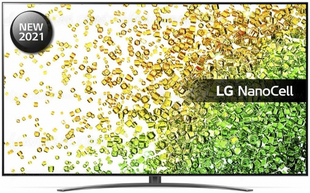 TV LED NanoCell Ultra HD 4K LG NANO866 : 100 Hz, Alpha 7 Gen 4, HDMI 2.1, HDR Dolby Vision…