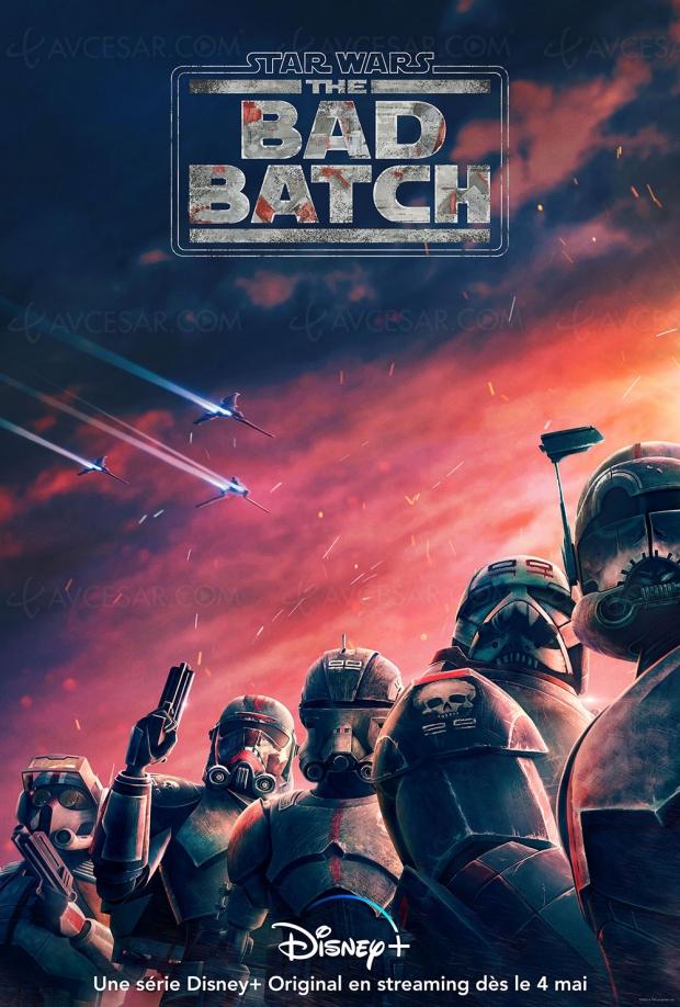 The Bad Batch : premier trailer pour les « 5 salopards » façon Star Wars