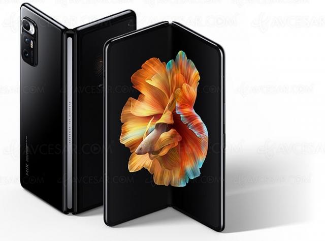 Mi Mix Fold, premier smartphone pliable de Xiaomi