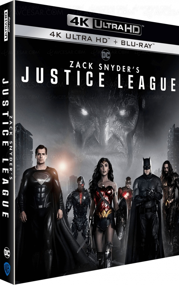Zack Snyder's Justice League, sortie 4K Ultra HD le 9… ?