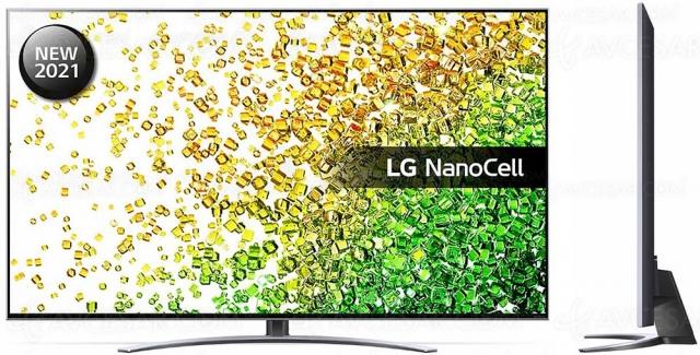 TV LED NanoCell Ultra HD 4K LG NANO88 : 100 Hz, Alpha 7 Gen 4, HDMI 2.1, HDR Dolby Vision…