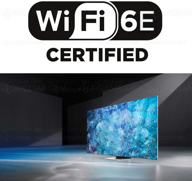 Samsung Neo QLED 8K 2021, premiers TV certifiés Wi‑Fi 6E