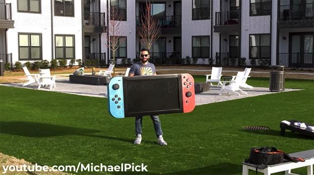 La Nintendo Switch 4K existe déjà et c'est énorme !