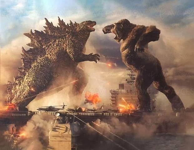Le succès cinéma de Godzilla vs Kong fait réfléchir Warner